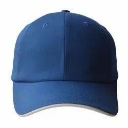 Blue Cotton Cap