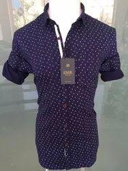 Casual Wear Cotton Emir Printed Shirts