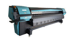 4 Konica 512i High Speed Solvent Printer