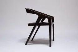 Premium Sheesham Wood Black Color Cafe Chair