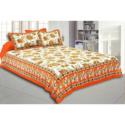 Jaipuri Printed Cotton Bed Sheets
