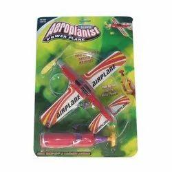 Plastic Aeroplanist Power Plane Toys, for School/Play School