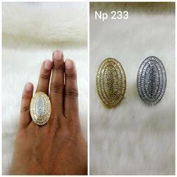 Oval Finger Rings
