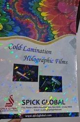 Laser Crystal Cold Lamination Holographic Film