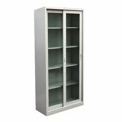 Capella Glass Door Steel Almirah