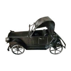 Black Own Vintage Iron Car Toy, for showpiece