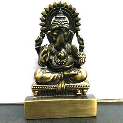 Ganesha Golden Show Piece