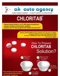 Chloritab Tablet for Disinfection