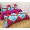 Fancy Floral 3D Bedsheets