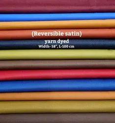 Reversible Satin (Yarn Dyed) Shirting Fabrics