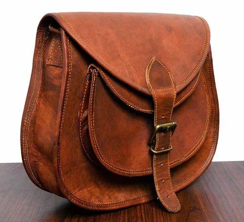 Brown Vintage Leather Ladies Purse 5ec93daec49f1