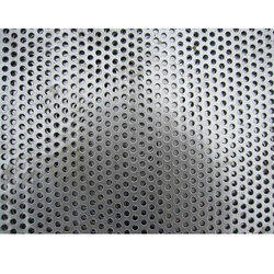 Square Holes Perforated Sheet