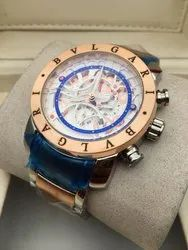 Blue Bvlgari Watch