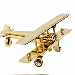 Brass Aeroplane Model