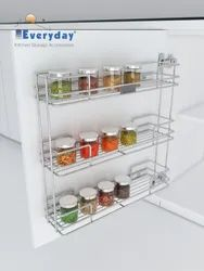 Cabinet Spice Rack Wire Base