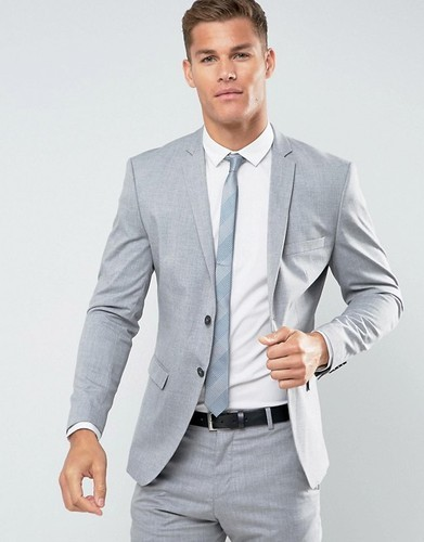 Wedding Attire For Men.2 Piece Men Wedding Suit