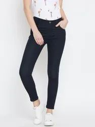 Comfort Black Women Stretchable Jeans