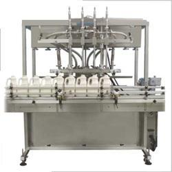 Servo Based Automatic Four Head Filling Machine