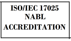 ISO 17025:2017 (NABL) Certification