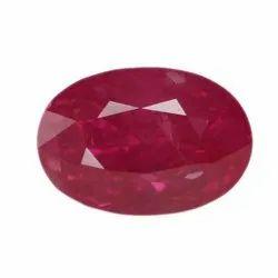 Oval - Cut No Heat Ruby Gemstone