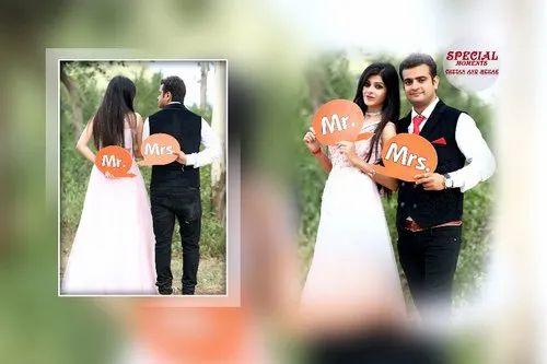 White Soft Copy Pre Wedding Album Designing Services Rs 40 Sheet Id 21803910712