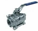 3PC Screwed Ends Ball Valve Reduce Bore