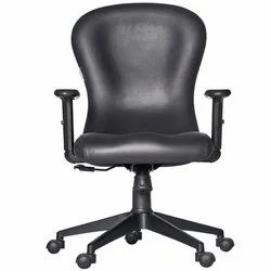 Fonzel 1820110 Volga Medium Back Leatherette Office Chair