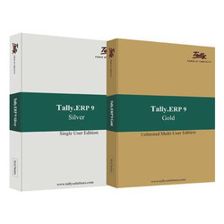 Tally ERP 9 Silver And Gold Edition