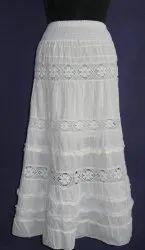 Cotton Ladies Skirt