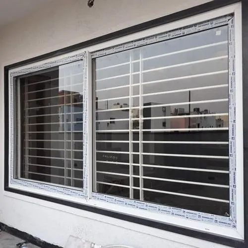 UPVC One Track Sliding Window