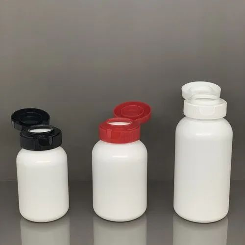 IBM Tablet/Capsule Containers with Flip Top Cap