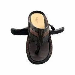 Le'CobbS Daily Wear Mens Leather Slippers, Size: 6 - 10