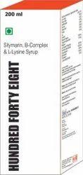 Silymarin, B-Complex & L-Lysine Syrup