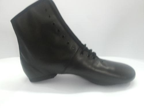 Women's Jazz Shoes Leather Boots Flat
