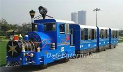 Trackless Park Train