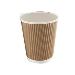 White Paper Tea Cup, Packet Size: 50 Pieces, Features: Eco Friendly, Disposable