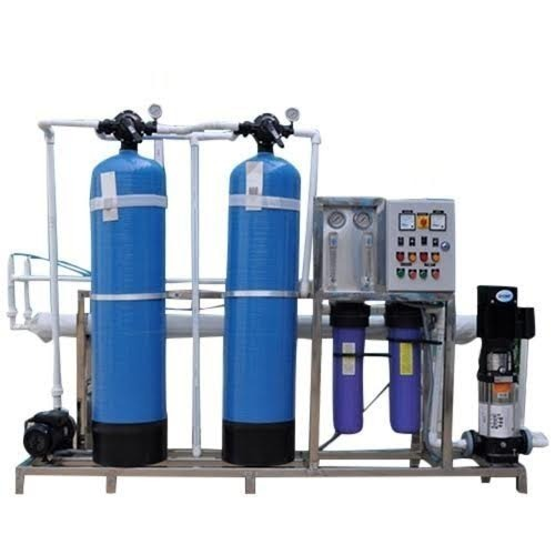 SS Powder Coating Automatic RO Water Plant 500LPH, 2 Industrial RO Plant