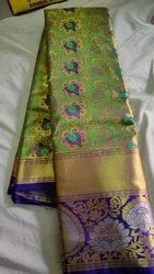 Zari Tissue broket saree