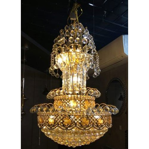 best sneakers b66dd b893d Crystal Jhar Round Hanging Light