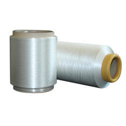 Plain 2 ply Bright Polyester Cationic Yarn, For Textile Industry