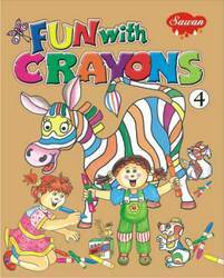 Fun With Crayons 4 Book