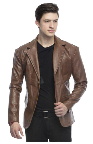 a3a8b1f1a Lambency Brown Solid Casual Blazers