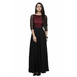 Ethnic Large Party Wear Evening Gown