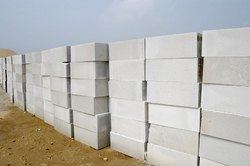 Essarcon Autoclaved Aerated Concrete AAC Block, For Side Walls,Partition Walls, Size: 4 X 8 X 24 Inch