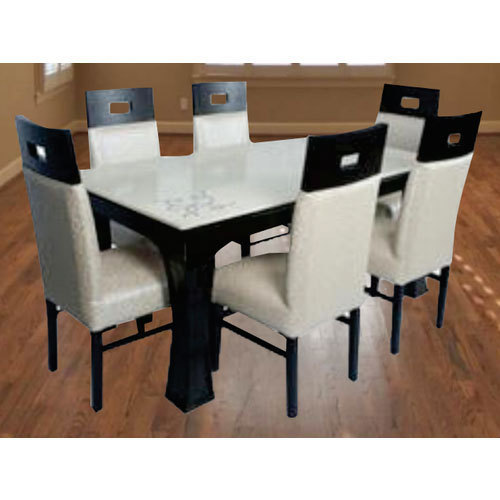 White And Black Df 201 Dining Table Set Tsento Id 18396745491