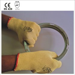 GTA10 Seamless Knitted Para-aramid Gloves