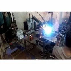 Robotic Welding SPM Machine
