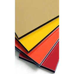 Plain Aluminium Composite Panel