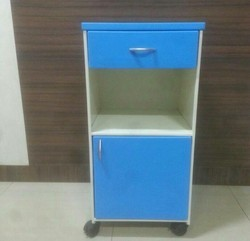 Color Coated Hospital Bedside Locker