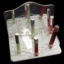 Table Top Acrylic Lip Gloss Display Stand